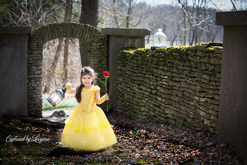 Fantasy Photographer Beauty And The Beast Photoshoot Captured By