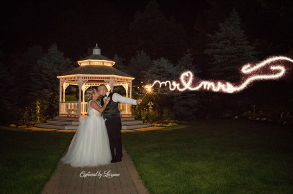 Chapel in the Pines Wedding Sparkler Exit-922-2
