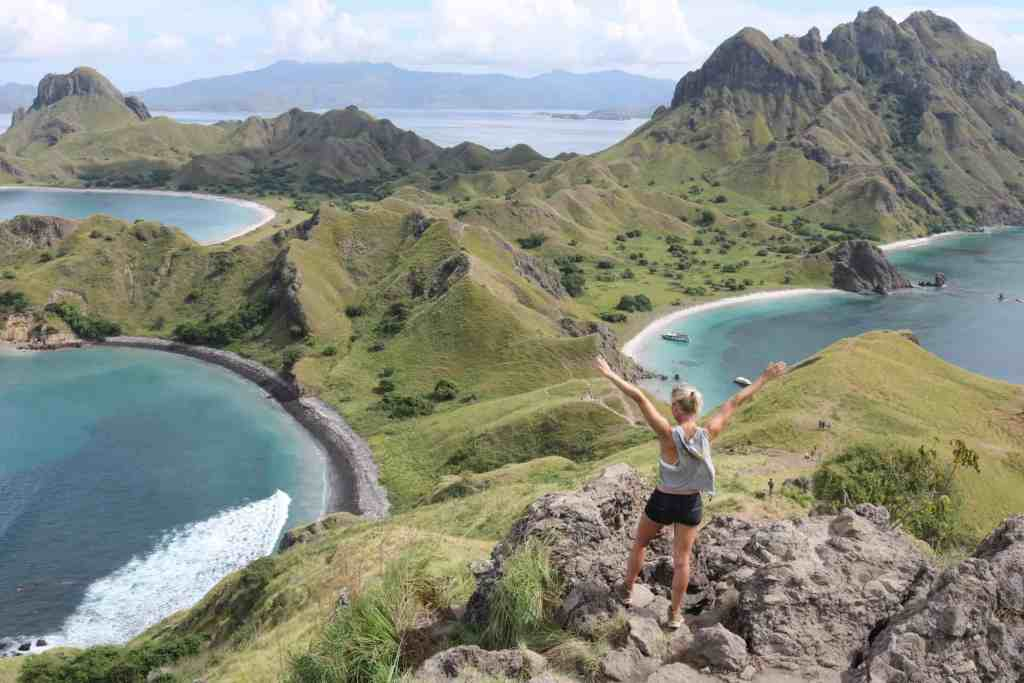 Padar island and Komodo