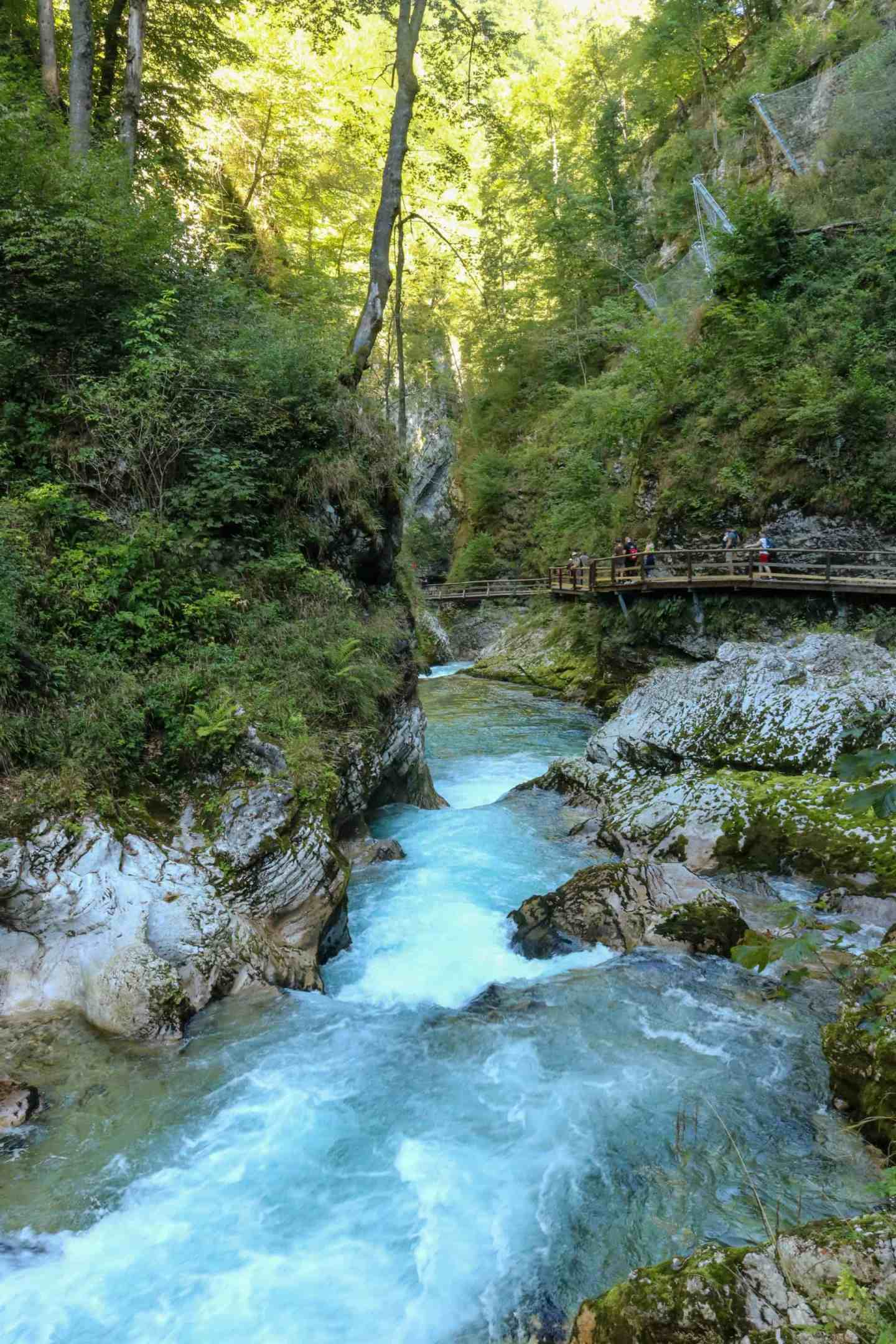Vintgar Gorge most beautiful place to visit Slovenia