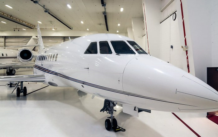 Falcon 2000 Matterport 3D Showcase