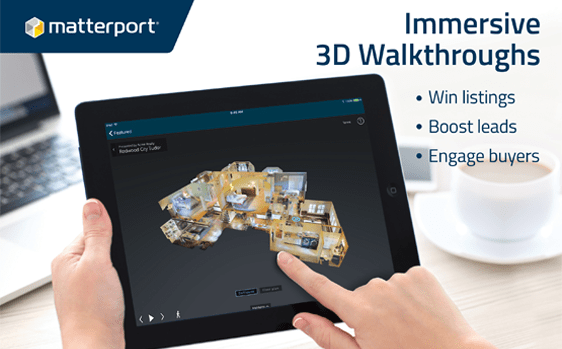 Matterport 3D and 2D Floor Plans