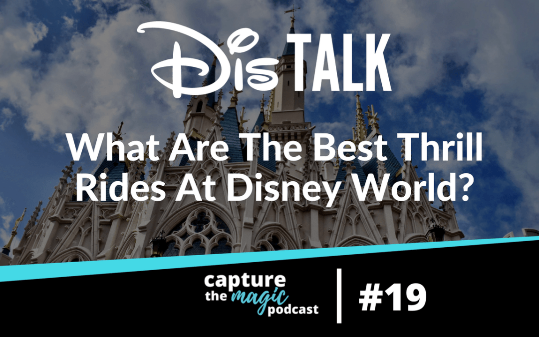 Ep 19: What Are The Best Thrill Rides In Disney World?
