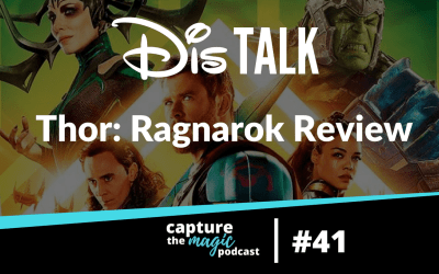 Ep 41: Dis Talk – Thor Ragnarok Review