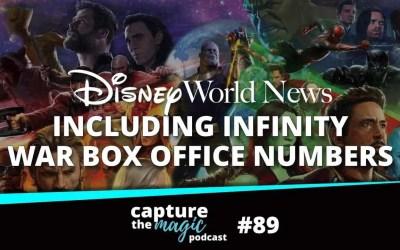 Ep 89: Disney World News, Rumors + Skyliner Congestion at EPCOT