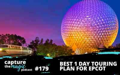 Ep 179: Best 1-Day Touring Plan for EPCOT