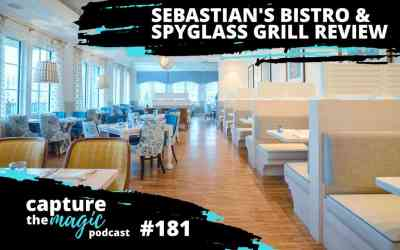 Ep 181: Sebastian's Bistro and Spyglass Grill Review