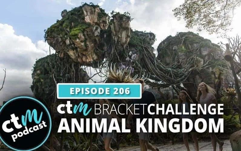 Ep 206: Attraction Bracket Challenge – Animal Kingdom