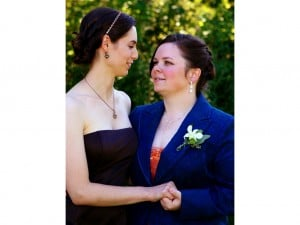 Lesbian Wedding in Boston