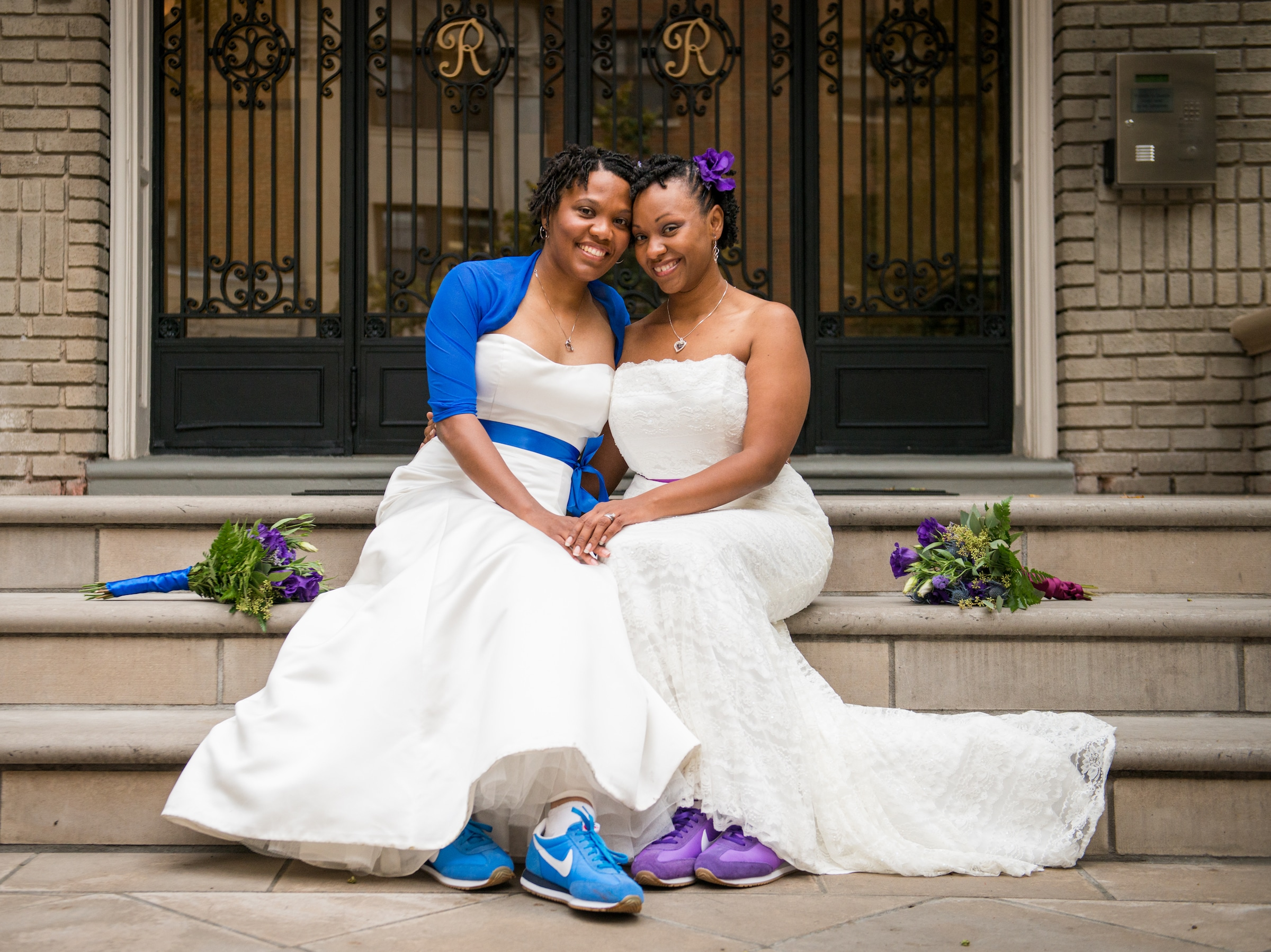 Two Brides by Kat Forder Photography