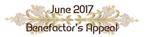 June 2017 Benefactor's Appeal