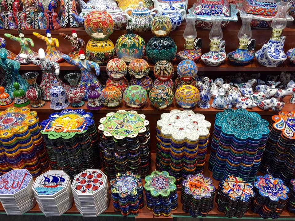 Grand Bazar d' Istanbul © Capucineee.com