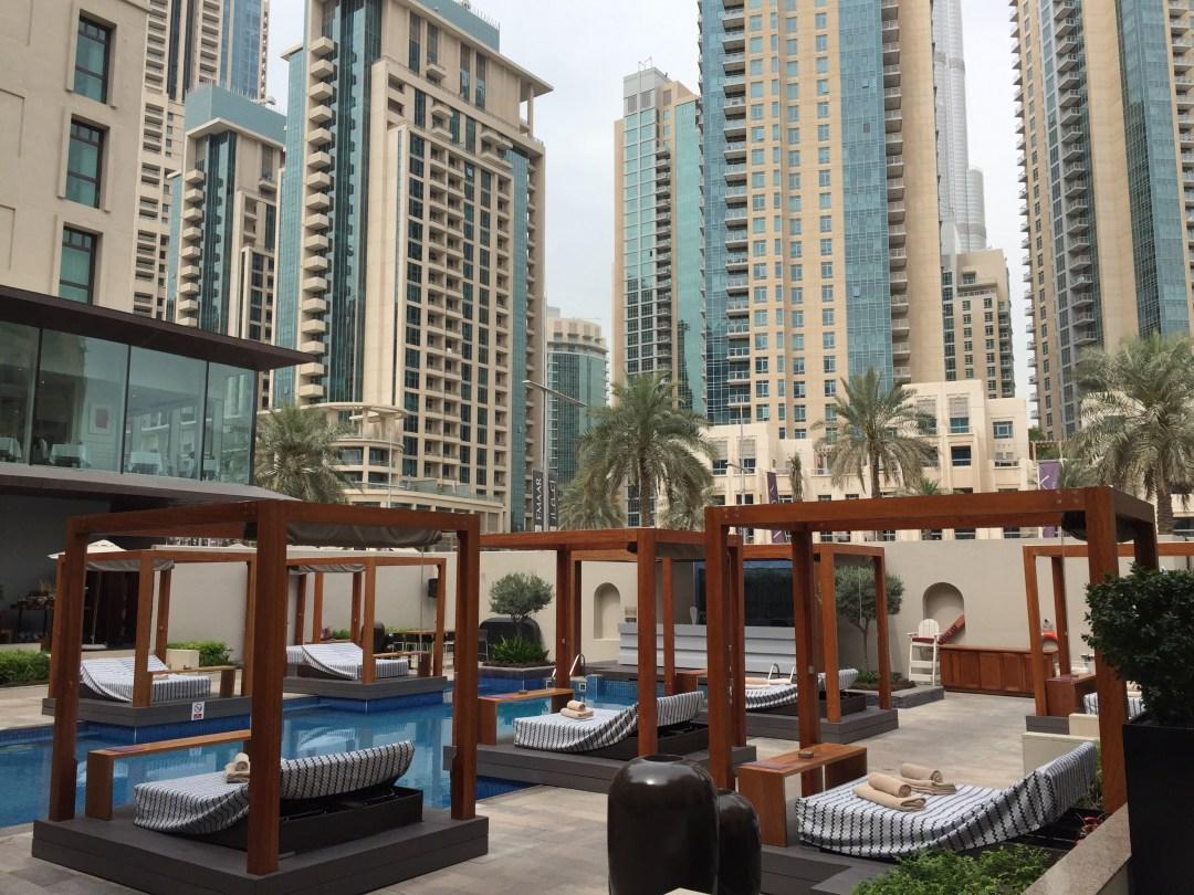Brunch à l'hôtel Vida Downtown Dubaï © Capucineee.com