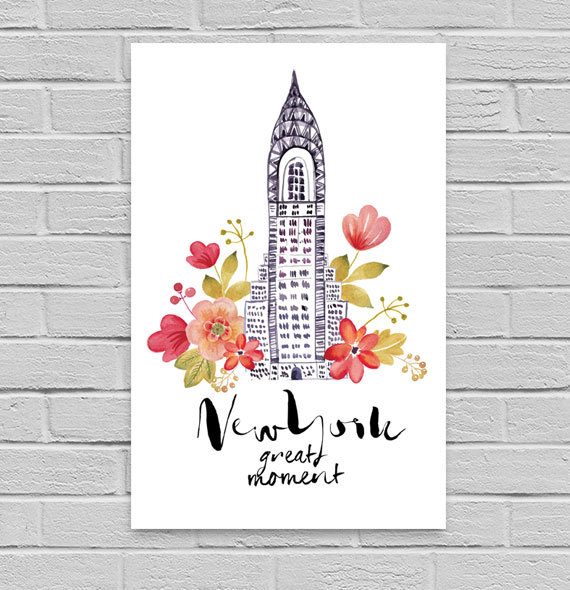 Poster à imprimer New York