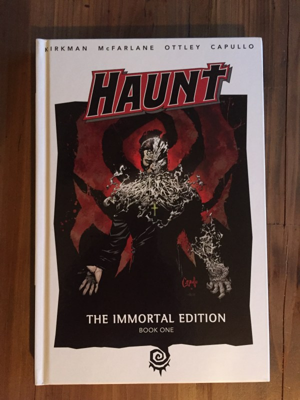 Haunt - Immortal Edition Book Capullo Art
