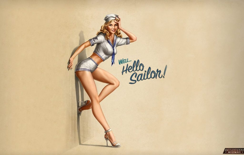 Concorso Miss Pin up WW2