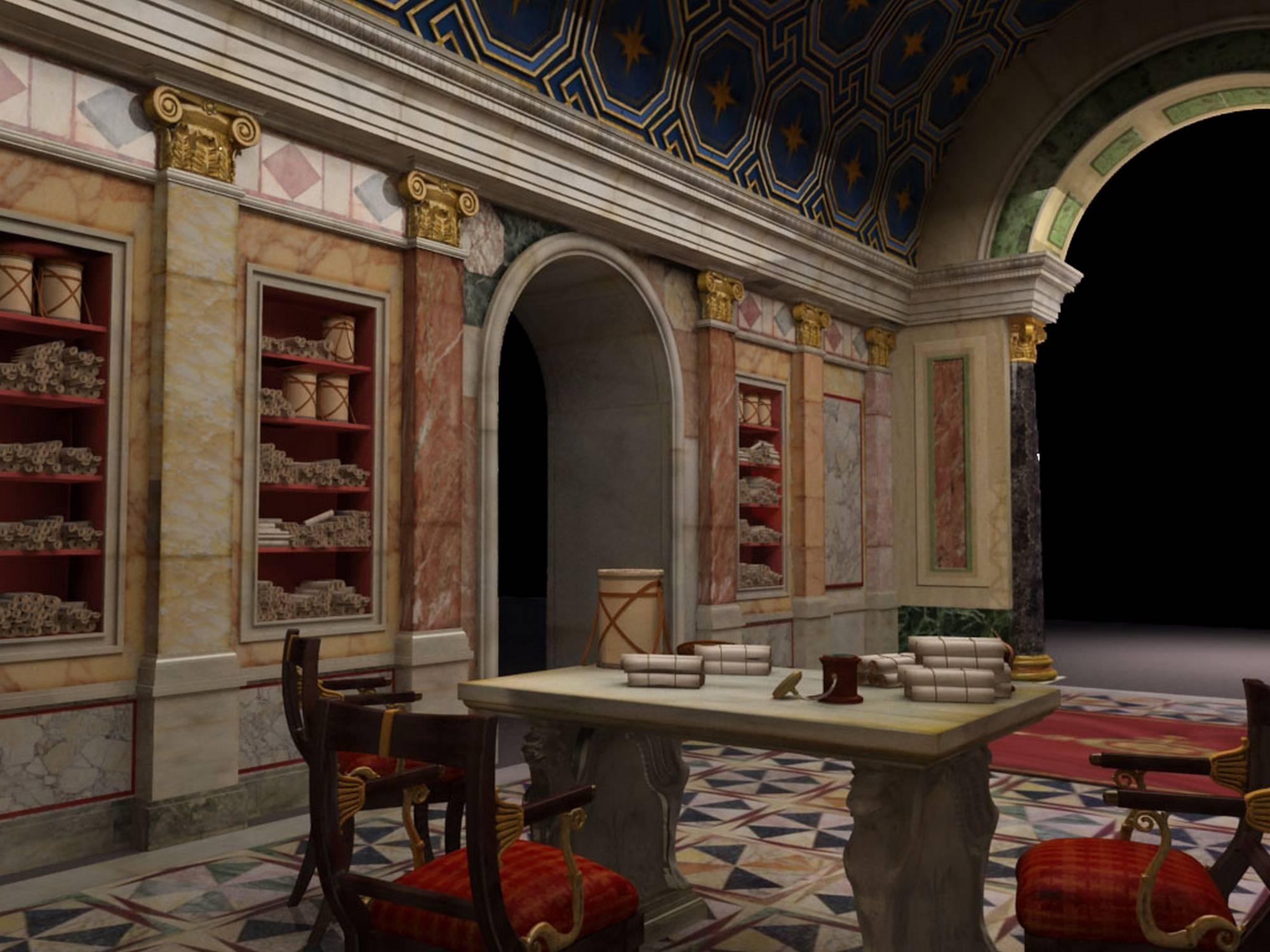 DOMUS ROMANE DI PALAZZO VALENTINI CAPWARE