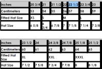 Snapback Hat Size Chart   Bruin Blog