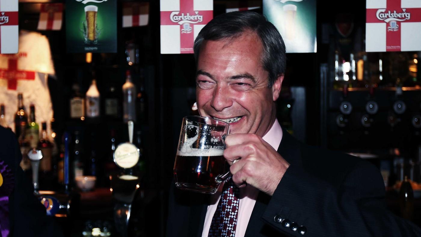 Shut up Nigel Farage