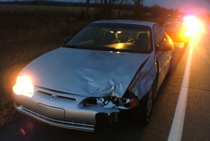Michigan Car Accidents Deer Accident Crash Highway 69