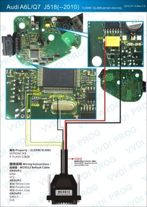 Audi A6LQ7 J518 Module – VVDI Prog Wiring Diagram |Auto