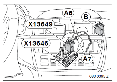 BMW X3 E83 Navigation System On-Board Monitor Retrofit