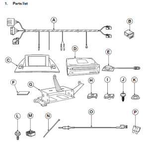 BMW X3 E83 Navigation System OnBoard Monitor Retrofit