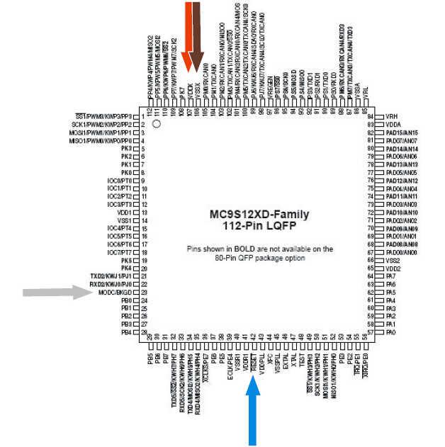 How to Use Carprog to Read Motorola MC68HC912xx & 9S12