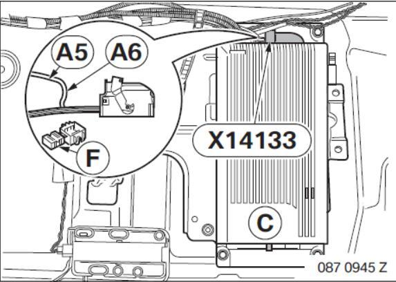 BMW 1 Series and 3 Series USB/Audio Interface SA 6FL