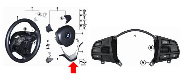 BMW F20 F30 Multi-Function Steering Wheel Retrofit DIY
