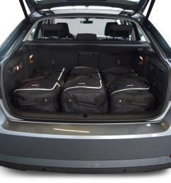skoda superb iii 3v 2015 present 5d car bags travel bags [ 1500 x 1000 Pixel ]