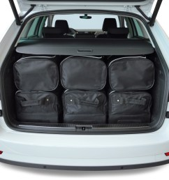 skoda superb iii 3v combi 2015 present car bags travel bags [ 1500 x 1000 Pixel ]