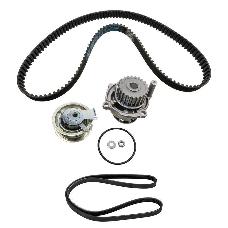 Kit timing belt water pump 2x V-ribbed belt 1.6 74kW AHL