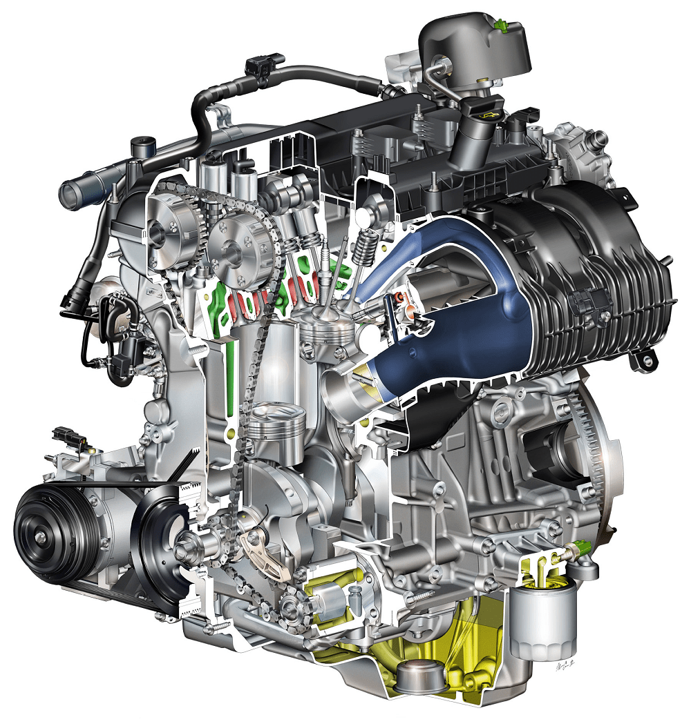 hight resolution of ford ecoboost 2 3 liter gasoline engine