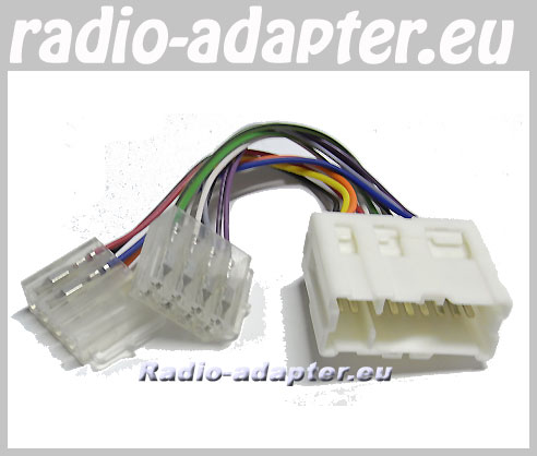 sony stereo wire harness diagram 1990 crx wiring nissan x-trail 2001 - 2004 car radio harness, iso lead hifi adapter.eu