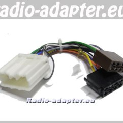 Mitsubishi L200 Stereo Wiring Diagram Hotpoint Dryer Lancer 2005 2006 Car Harness Iso Lead Hifi Radio Adapter Eu