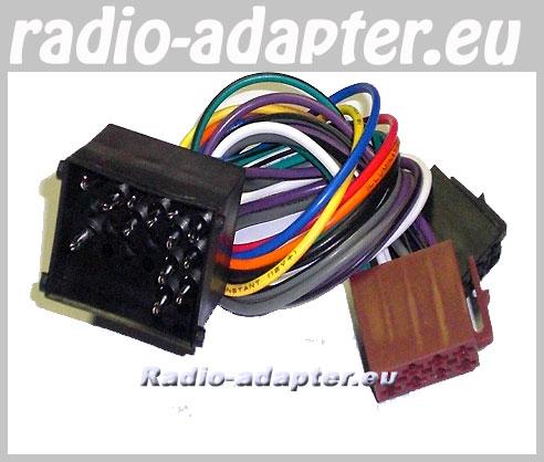 e30 stereo wiring sony head unit diagram bmw 8er-serie e31 17 pin car radio wire harness, iso lead - hifi adapter.eu