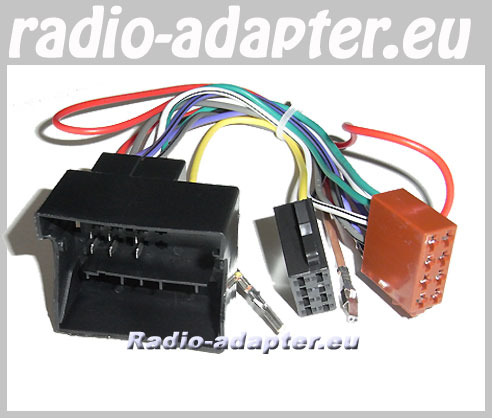 sony aftermarket radio wiring diagram dpdt latching relay vw golf v 2003 - 2008 car wire harness, iso lead hifi adapter.eu