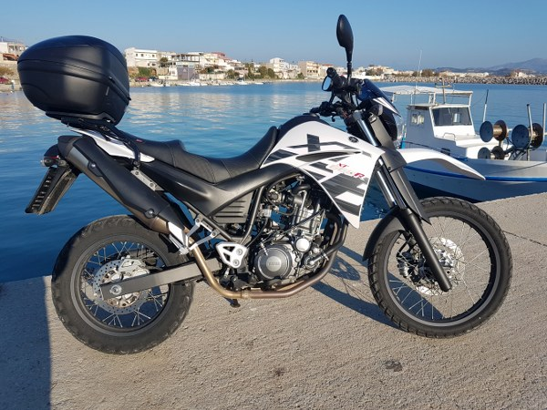 RENT A XT660R Stalis, Stalis motorcycle hire, rent a motor bike Stalis resort