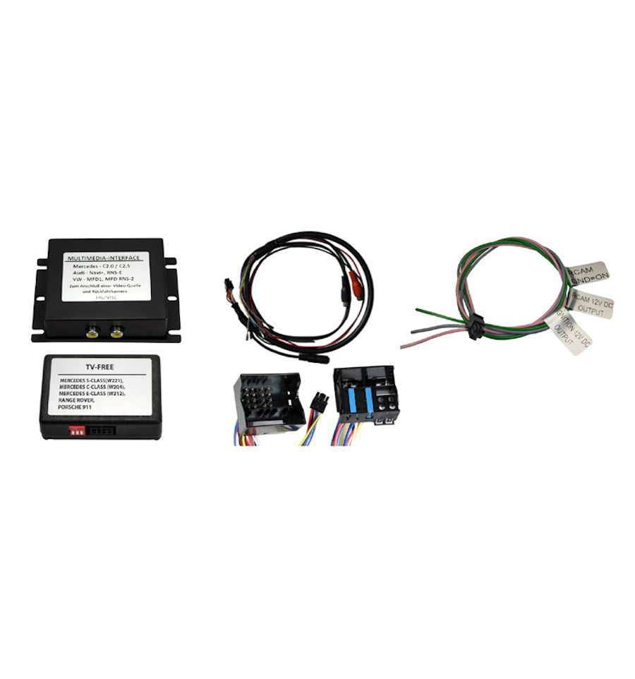 Audio-Video input interface for VW RNS510 RNS810 RVC