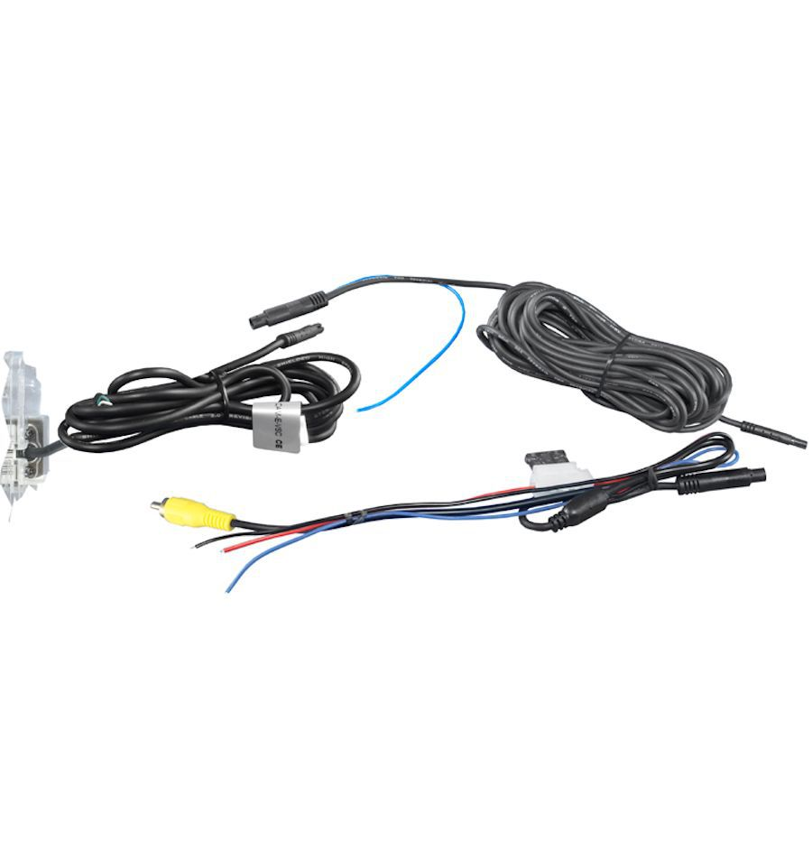 RVC license-plate light with guidelines for Mercedes CI
