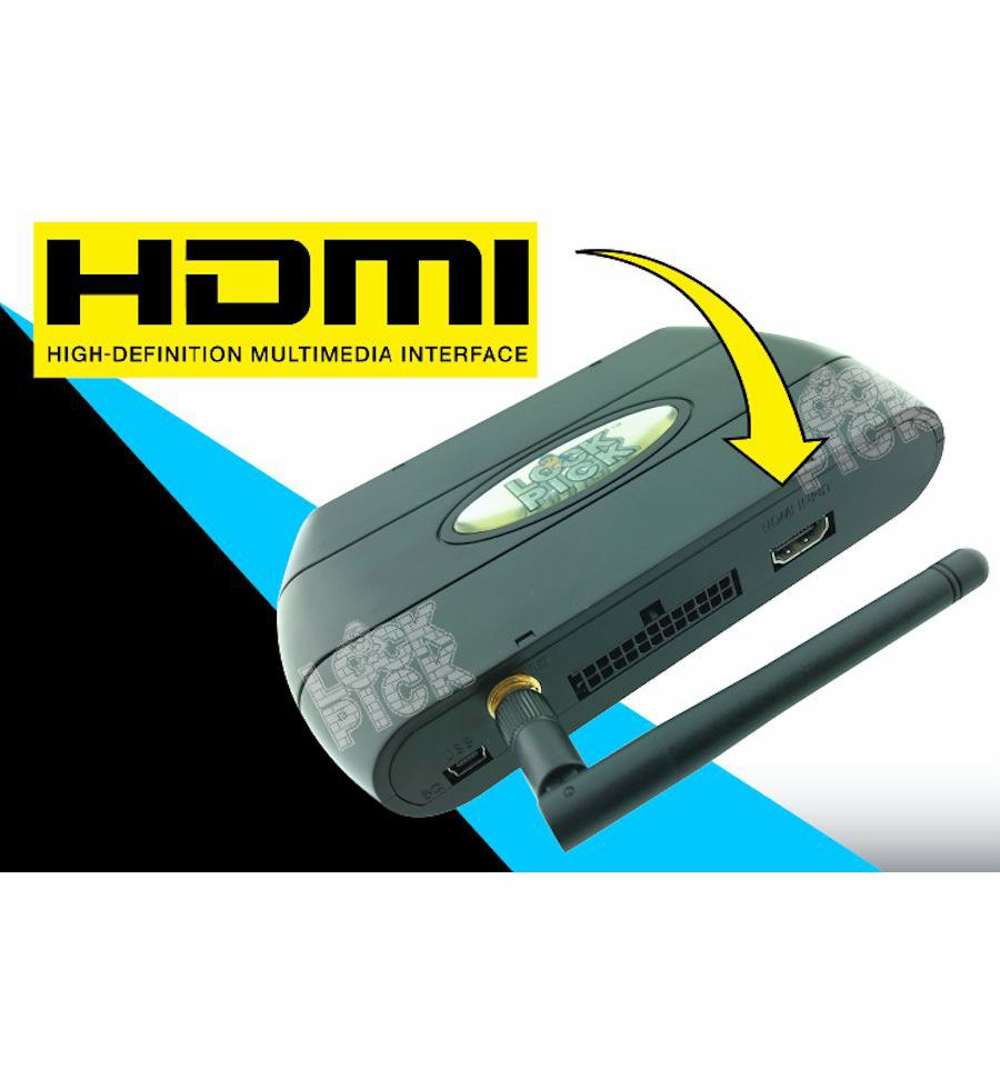 hight resolution of dodge uconnect lockpick air v2 hdmi wifi streaming interface video in motion