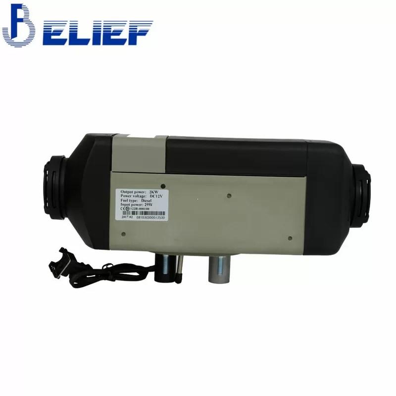 Diesel Fired Coolant Heater Facias