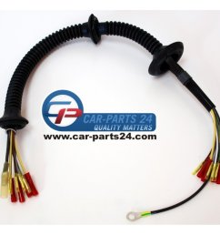 repair wiring set silicone cable for trunk lid for bmw e46 limousine coupe [ 1400 x 1400 Pixel ]