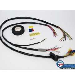repair wiring harness tailgate right side for bmw e61 [ 1400 x 1400 Pixel ]