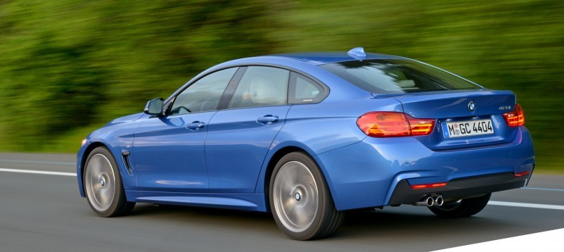 100 New Photos - 2015 BMW 428i and 435i Gran Coupe Are Segment-Busting AWD 4-Doors 10