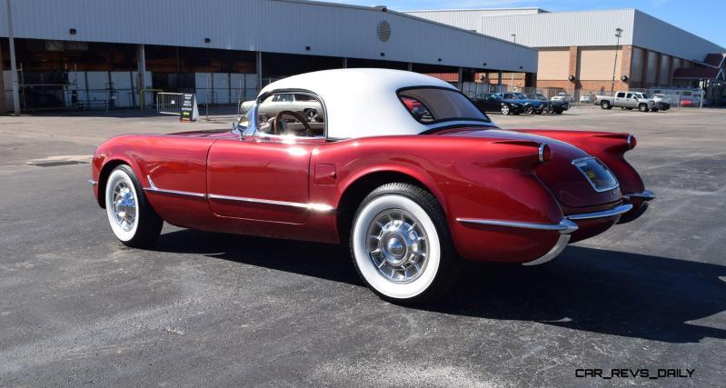 1953 Chevrolet Corvette Bubble Hardtop - 1989 Replica Vehicle 20