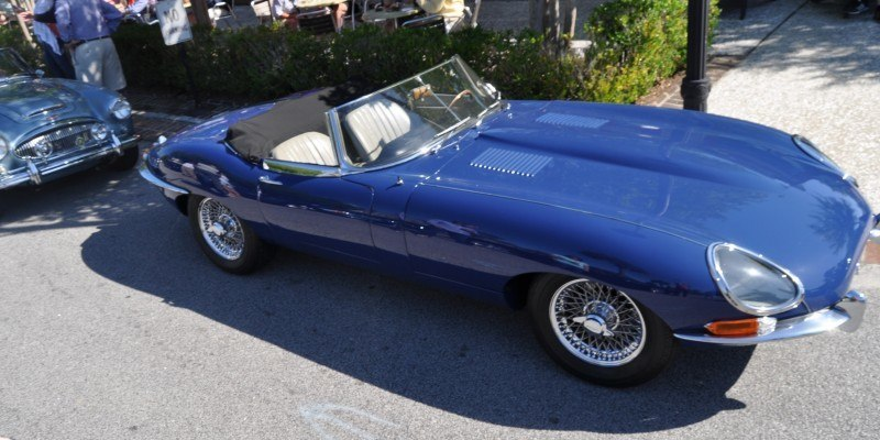 1963 JAGUAR E-Type Series 1 Classes Up Kiawah Island Cars and Coffee 10