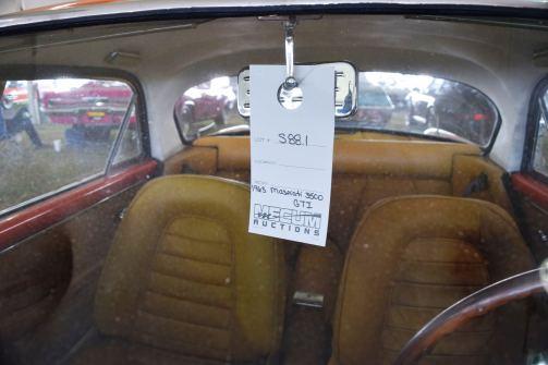 1963 Maserati 3500GTi Interior 1