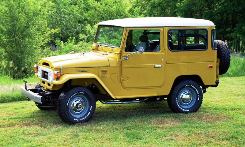 1976 Toyota Land Cruiser FJ40 1